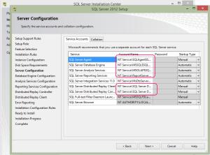 SQL 2012 or SQL 2014 installation step 13.1