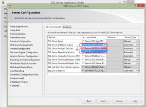 SQL 2012 or SQL 2014 installation step 13.2