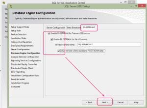 SQL 2012 or SQL 2014 installation step 14.3