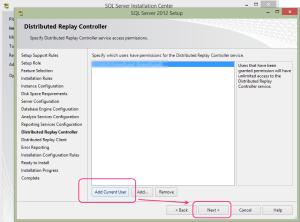 SQL 2012 or SQL 2014 installation step 17
