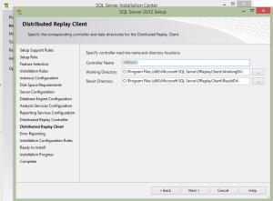 SQL 2012 or SQL 2014 installation step 18