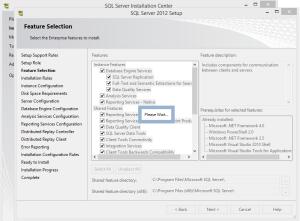 SQL 2012 or SQL 2014 installation step 9.2