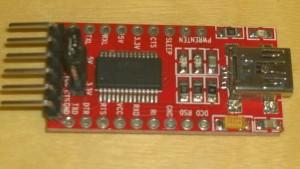 'FTDI' 232 programmer